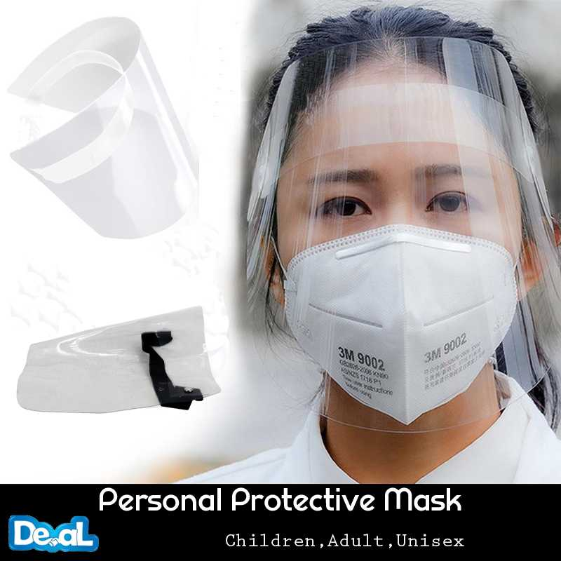 1 Pcs Transparent Anti Splash Dust-proof Protect Full Face Covering Mask Visor Shield