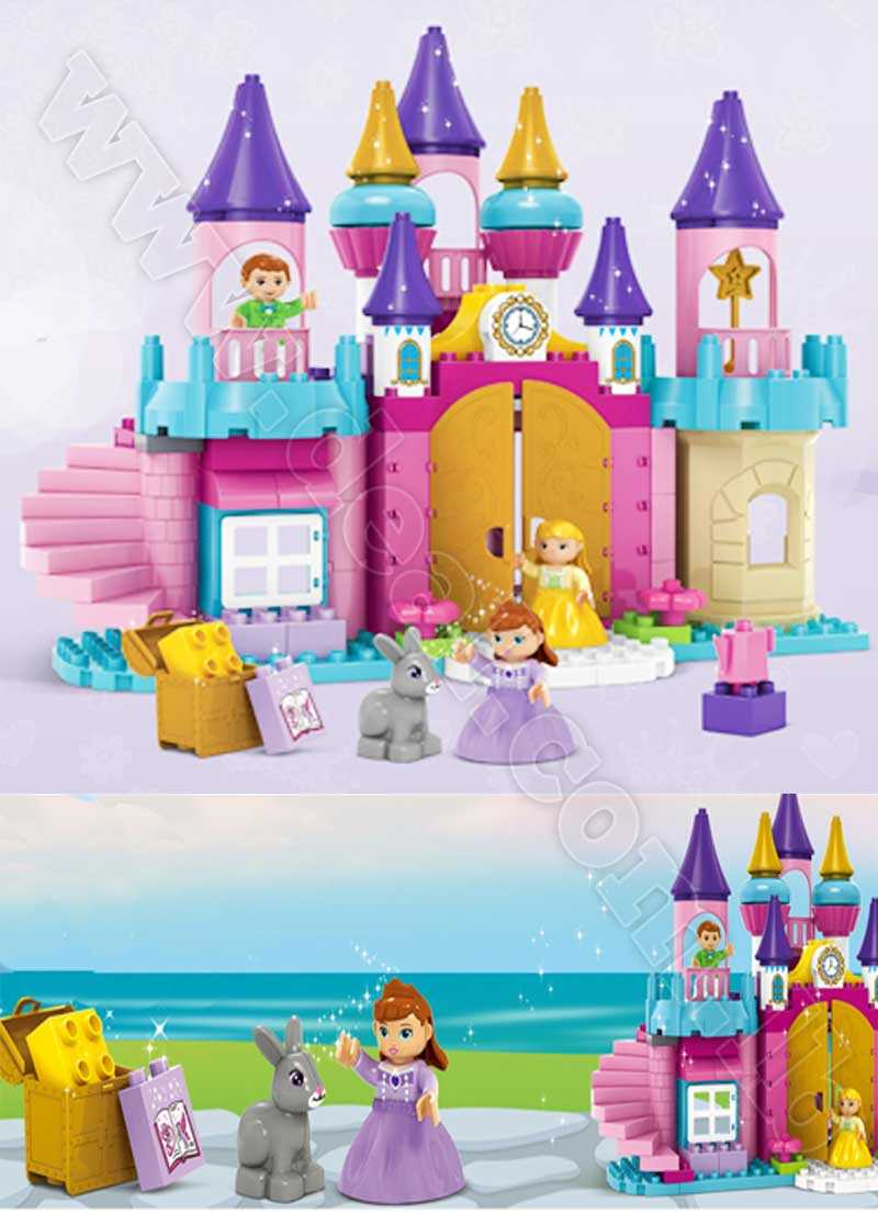 113 pcs magical princess castle lego
