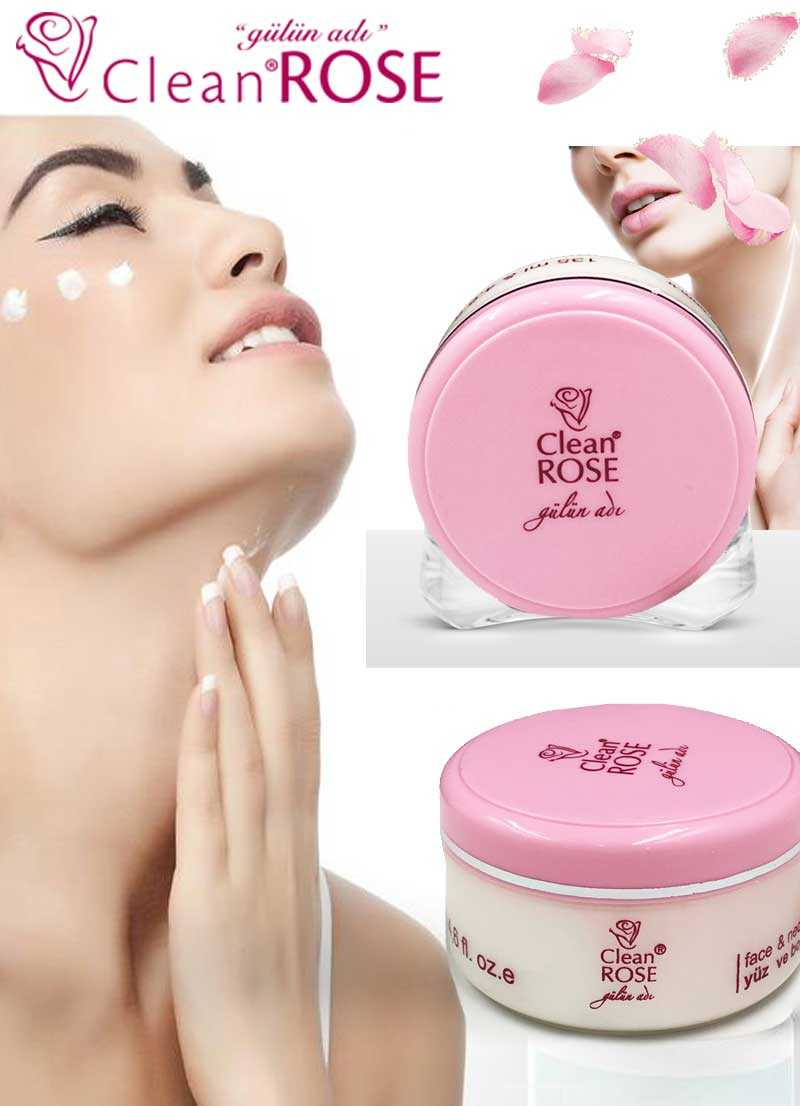135ml Clean Rose face and neck cream