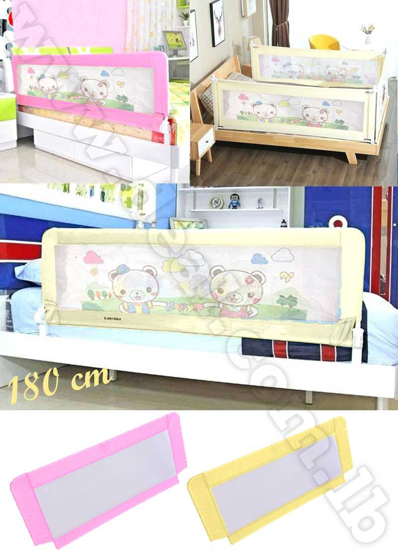 180+cm+Baby+Bed+Safety+Swing+Down+Guard+Rail+Toddler