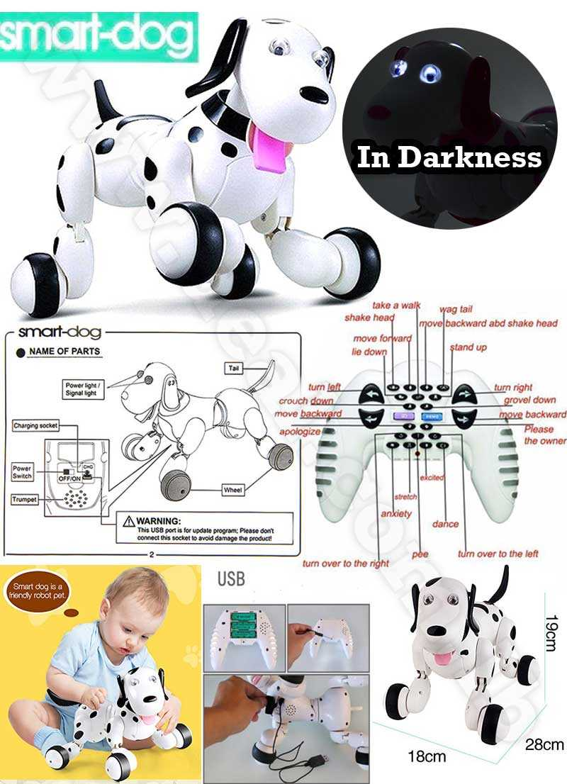 2.4G WIRELESS SMART REMOTE CONTROL DANCING ROBOT DOG