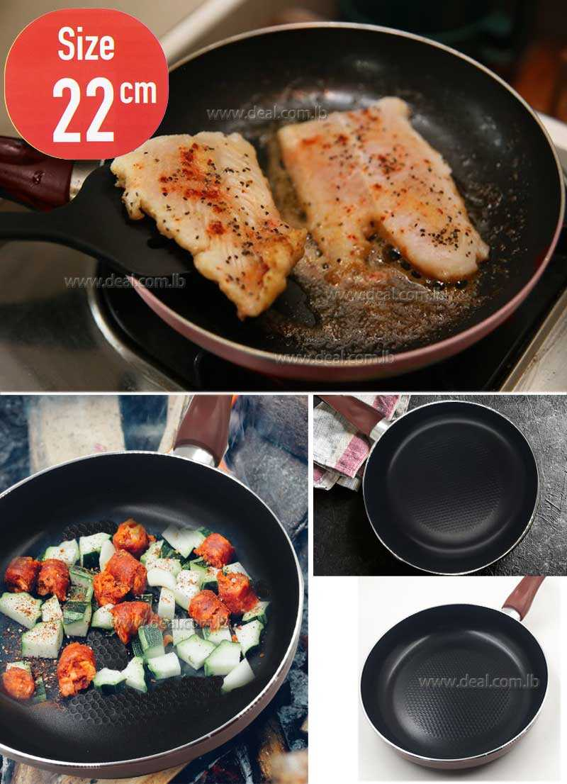 22 cm Fry pan of thickness 3M