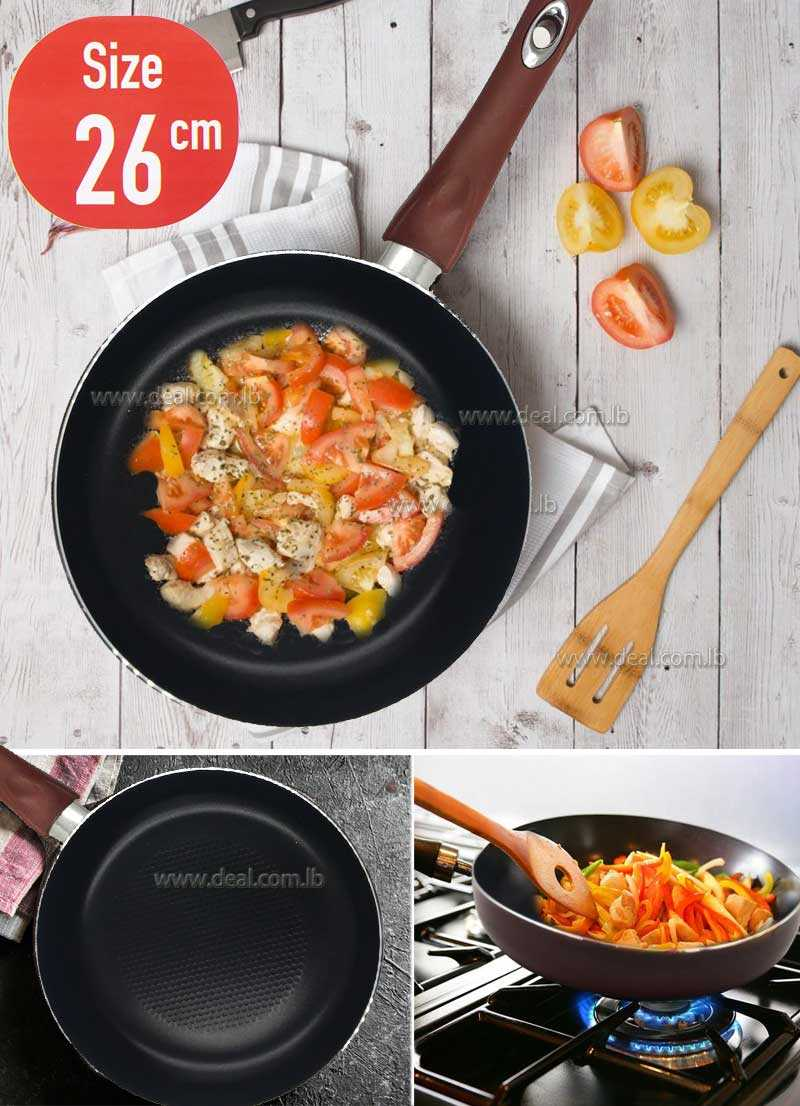 26cm Fry pan of thickness 3MM