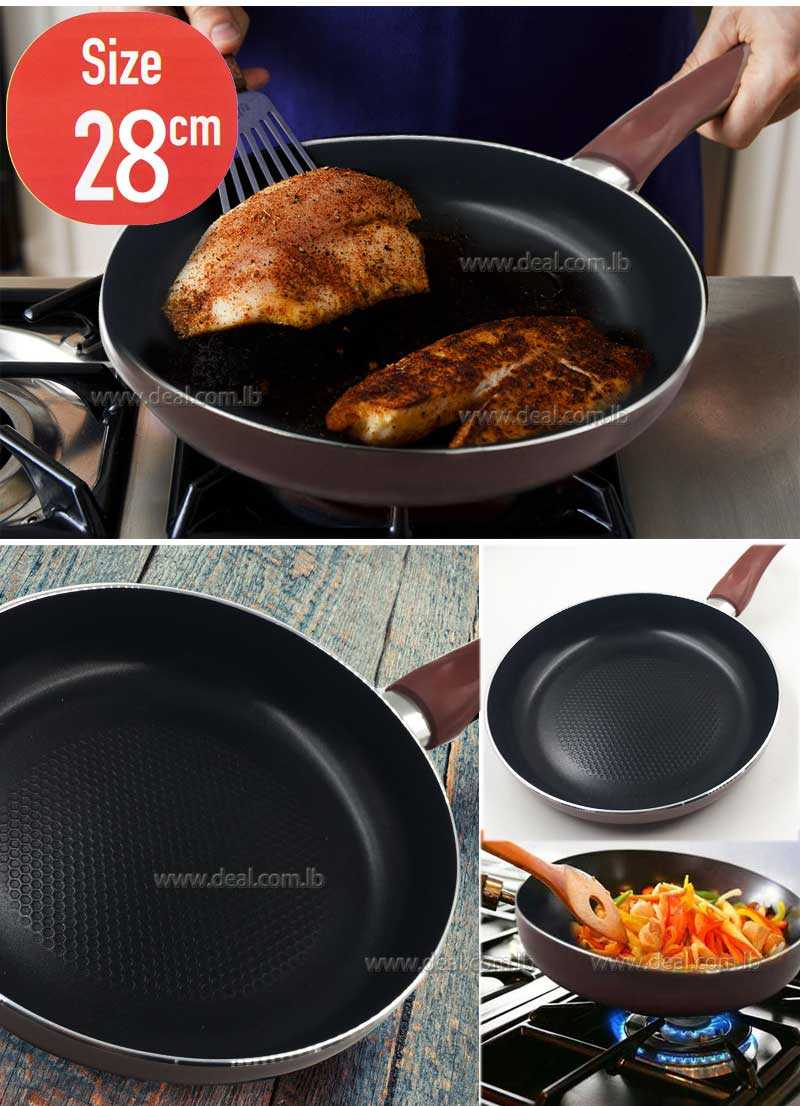 28 cm Fry pan of thickness 3MM