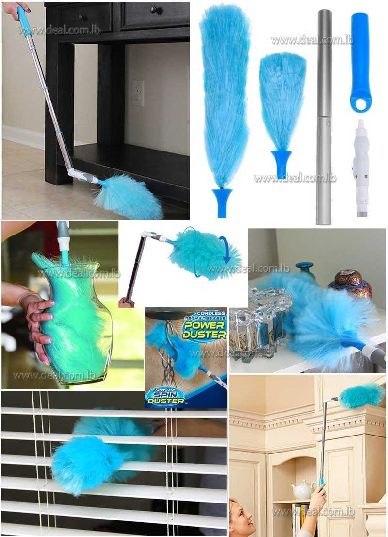 360 DEGREE ROTARY BENDING CLEANING BRUSH REMOVAL DUST COLLECTOR ROTARY CLEANER