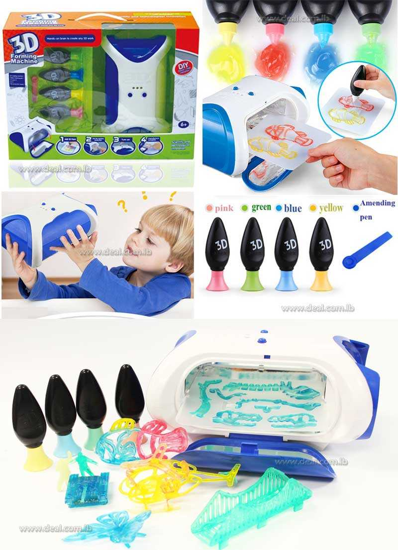 3D Toy Forming painting Machine educational toy