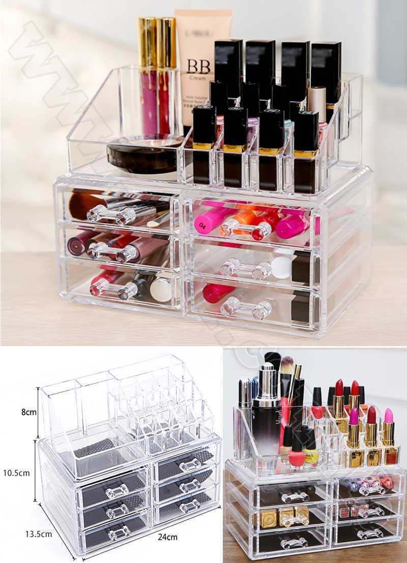 6 Drawer Organizer Makeup Box