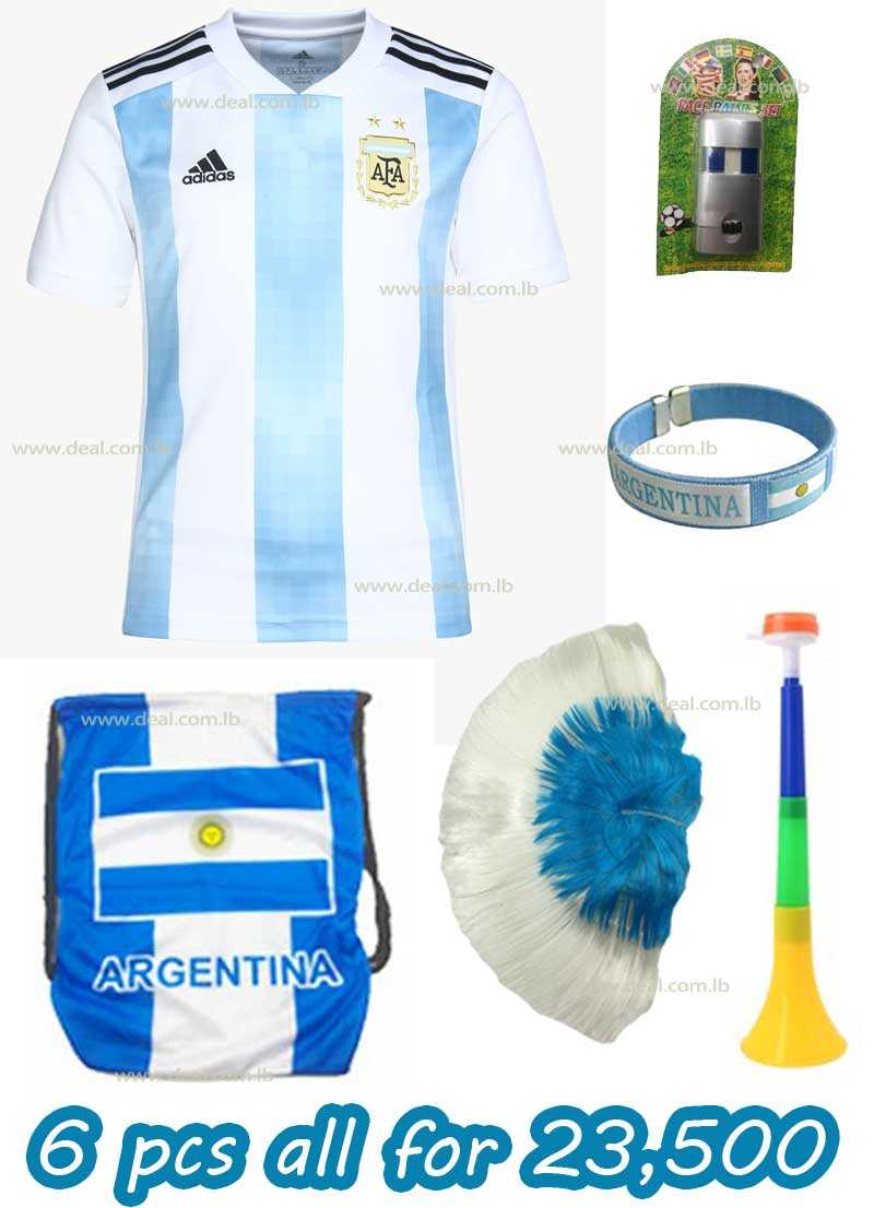 6 Pcs Argentina Package