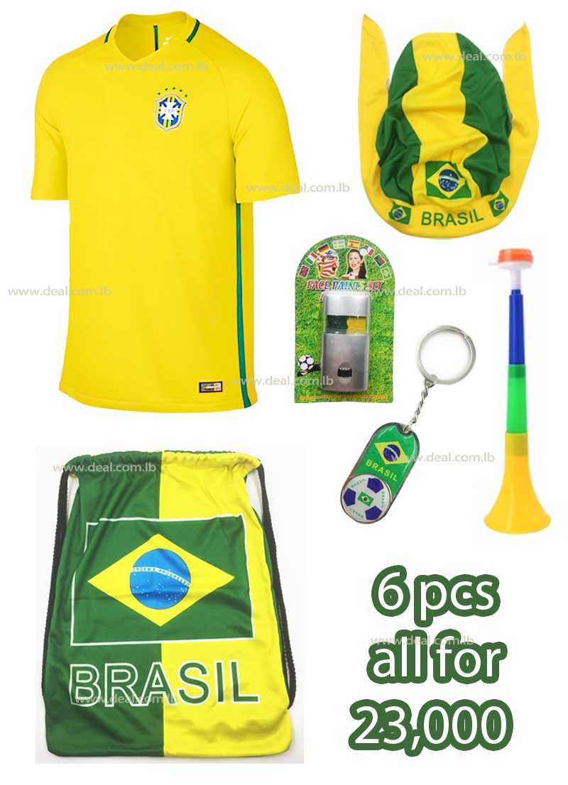 6 Pcs Brazil Package