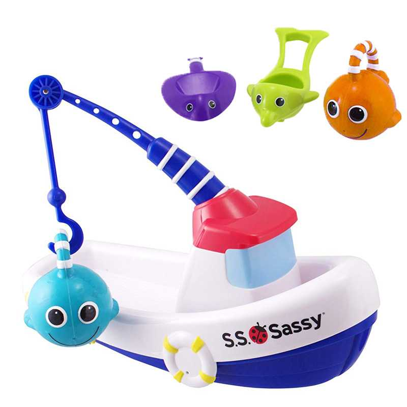 6 pieces Sassy Fishing Boat