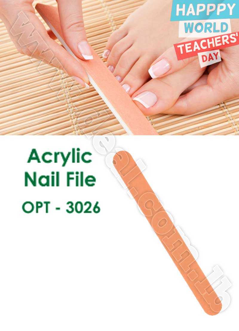 Acrylic Nail File  OPT-3026