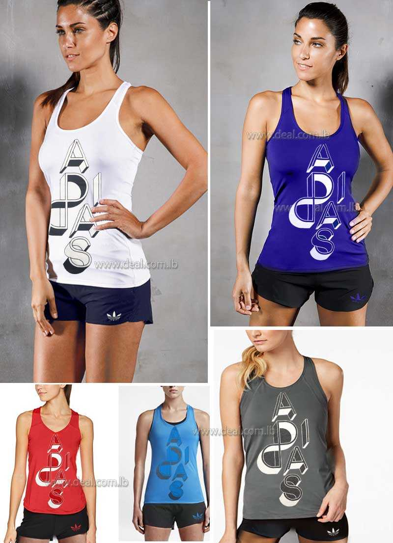 Adidas+Womens+AeroReact+Running+Tank+Top+with+short
