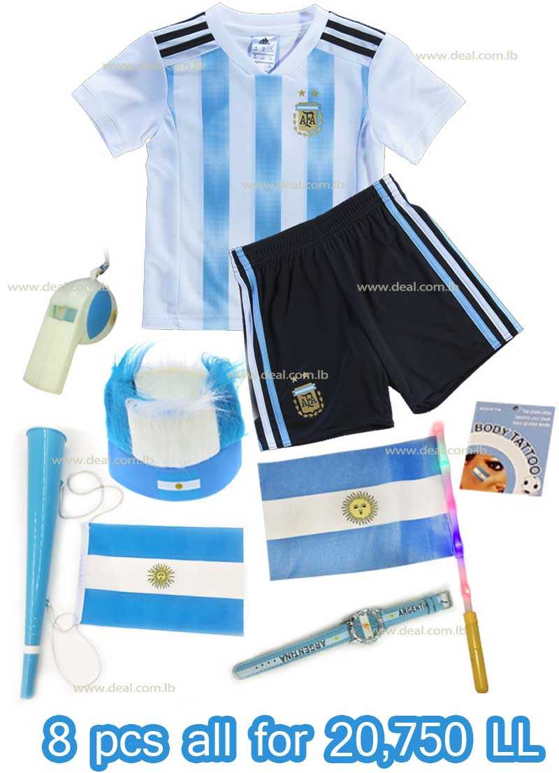 8 Pcs Argentina Package