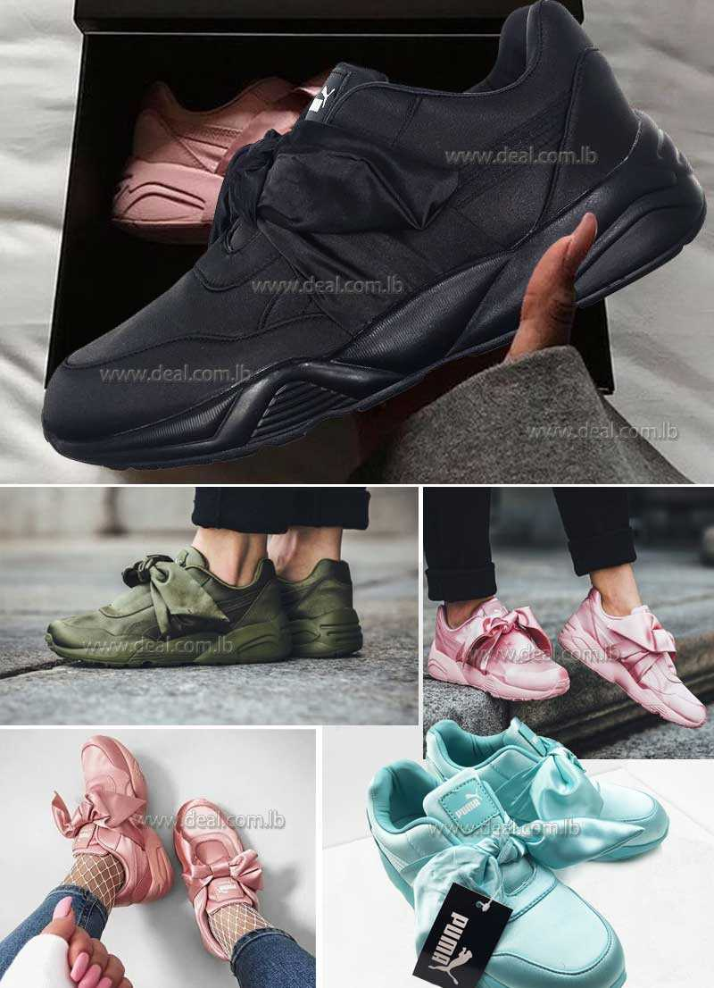 Authentic Fenty Puma by Rihanna Bow Womens Sneakers