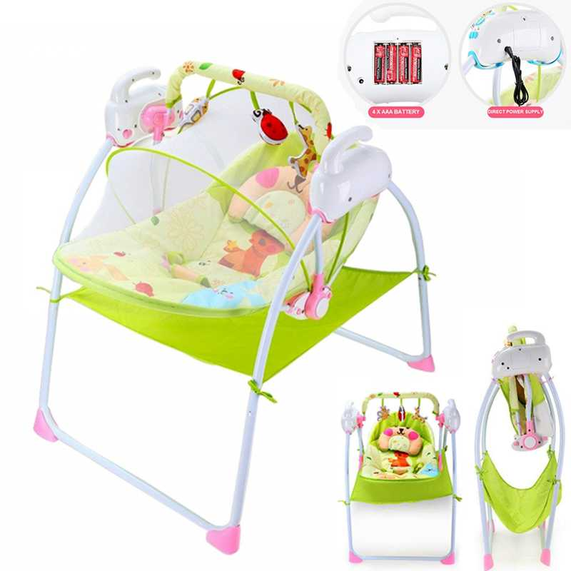 Auto+Swing+Electric+Motorize+Multi-Function+Electronic+Baby+cradle