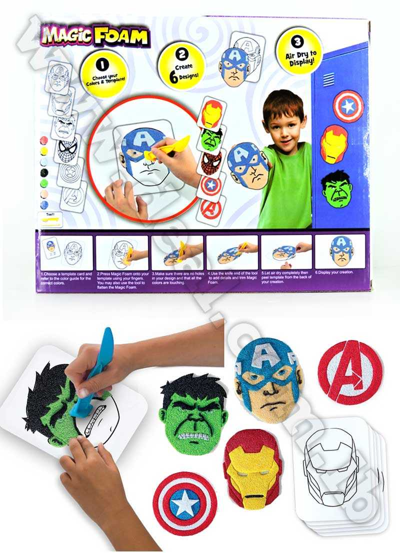 Avengers magic foam