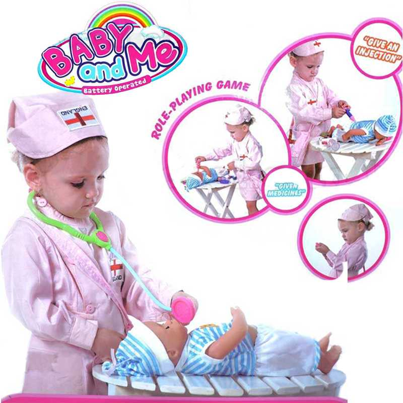 Baby And Me Nursing Station Battery Operated