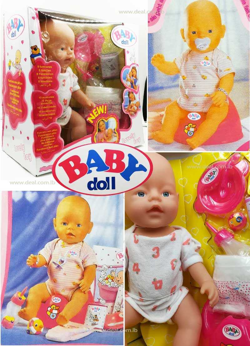 Baby Doll Set Lovely Toy