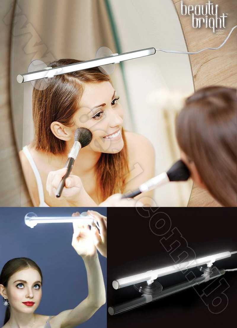 Beauty Bright Instant LED Vanity Lighting Portable