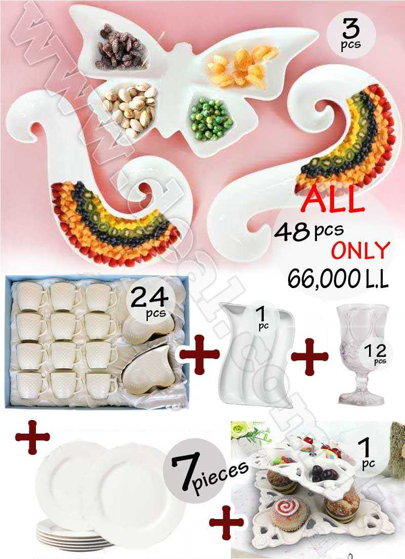 Best Deal 48pcs Plates And Cups Glass Or Porcelain