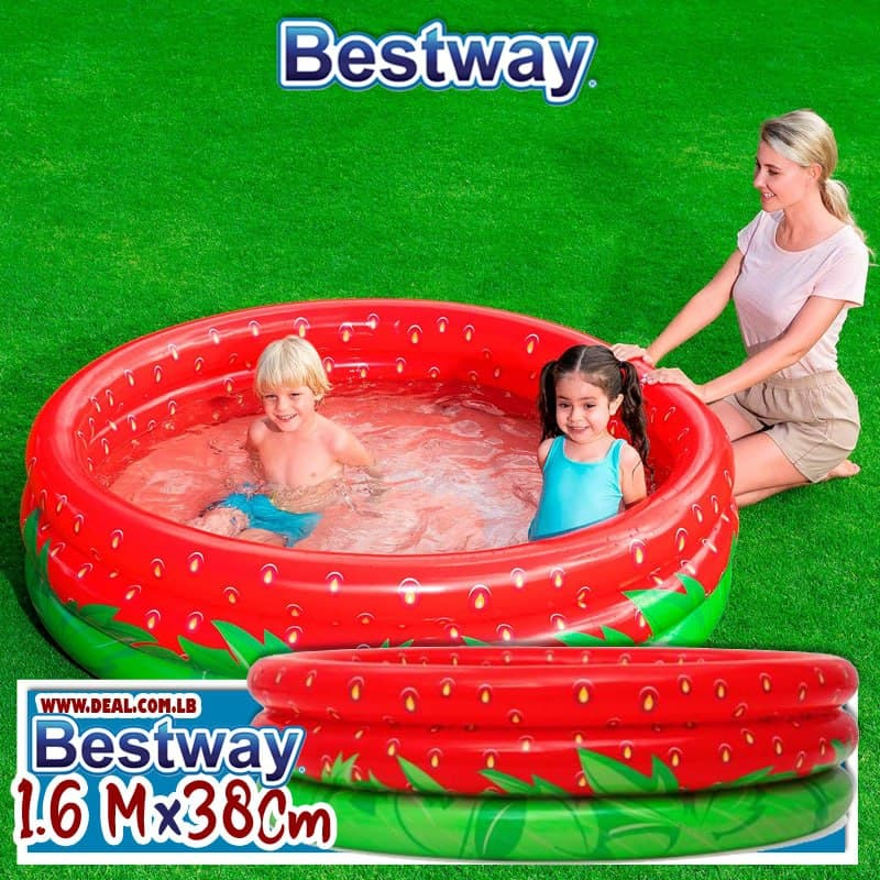 Bestway 51145  Sweet Strawberry Pool 1.60m * H38 cm