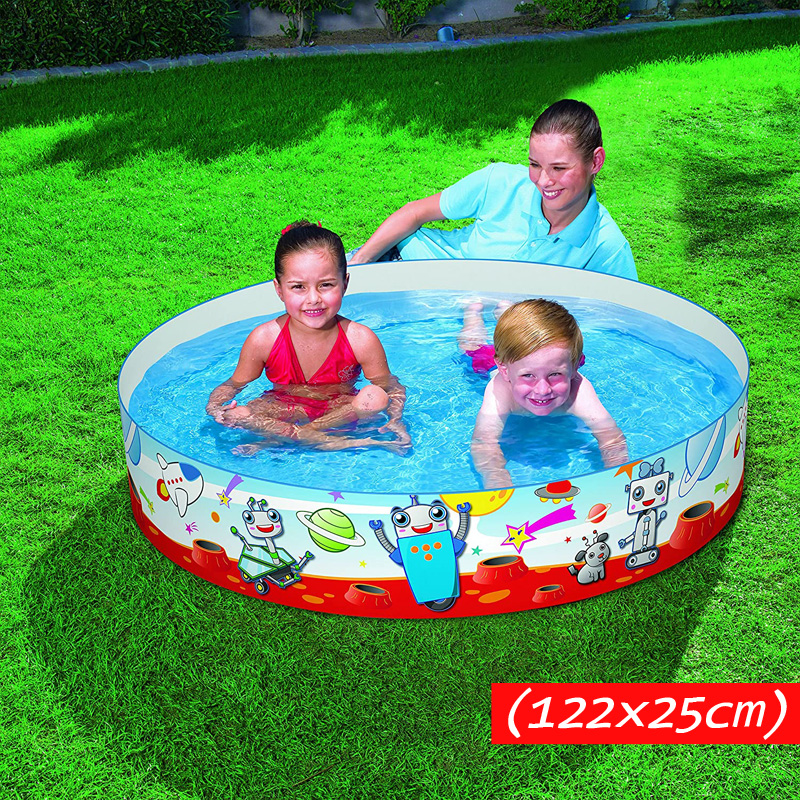 Bestway 55004 Spacebotz Fill N Fun Pool 1.22m*25cm