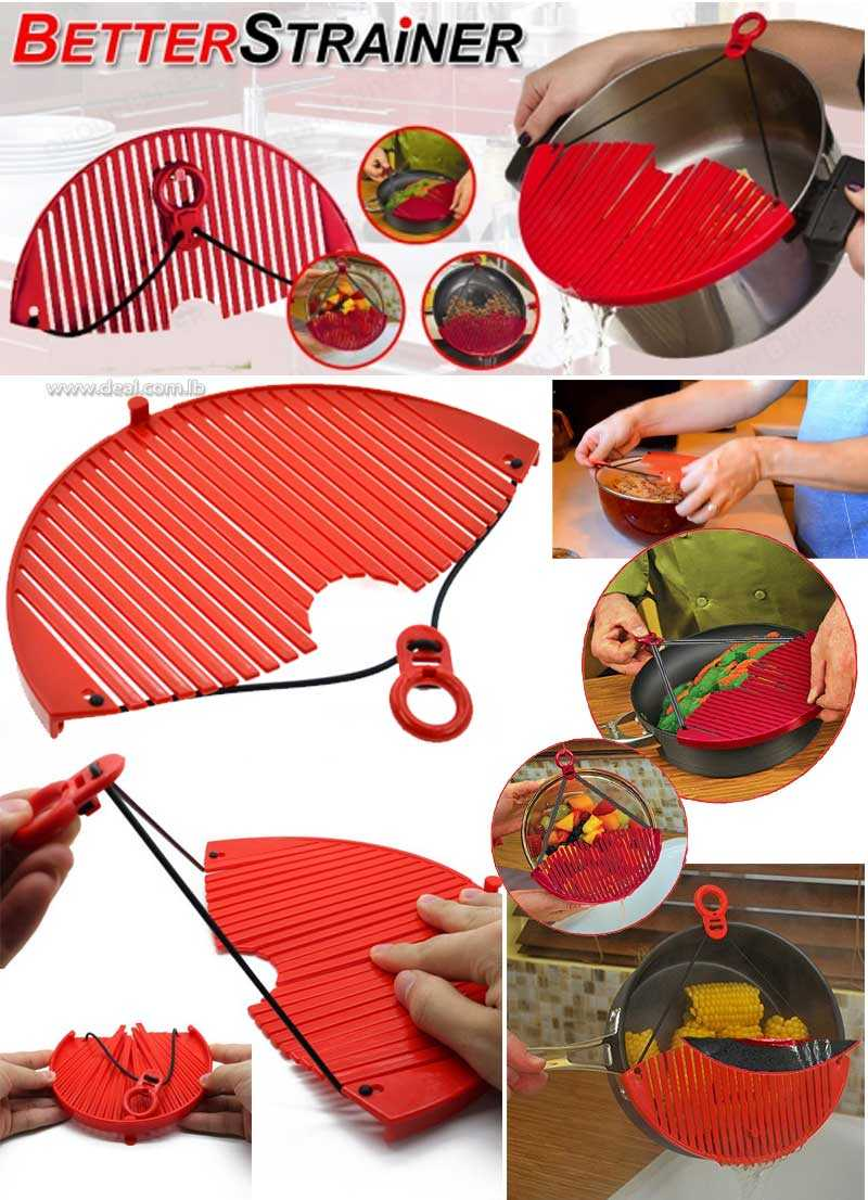 Better Strainer Expandable Food