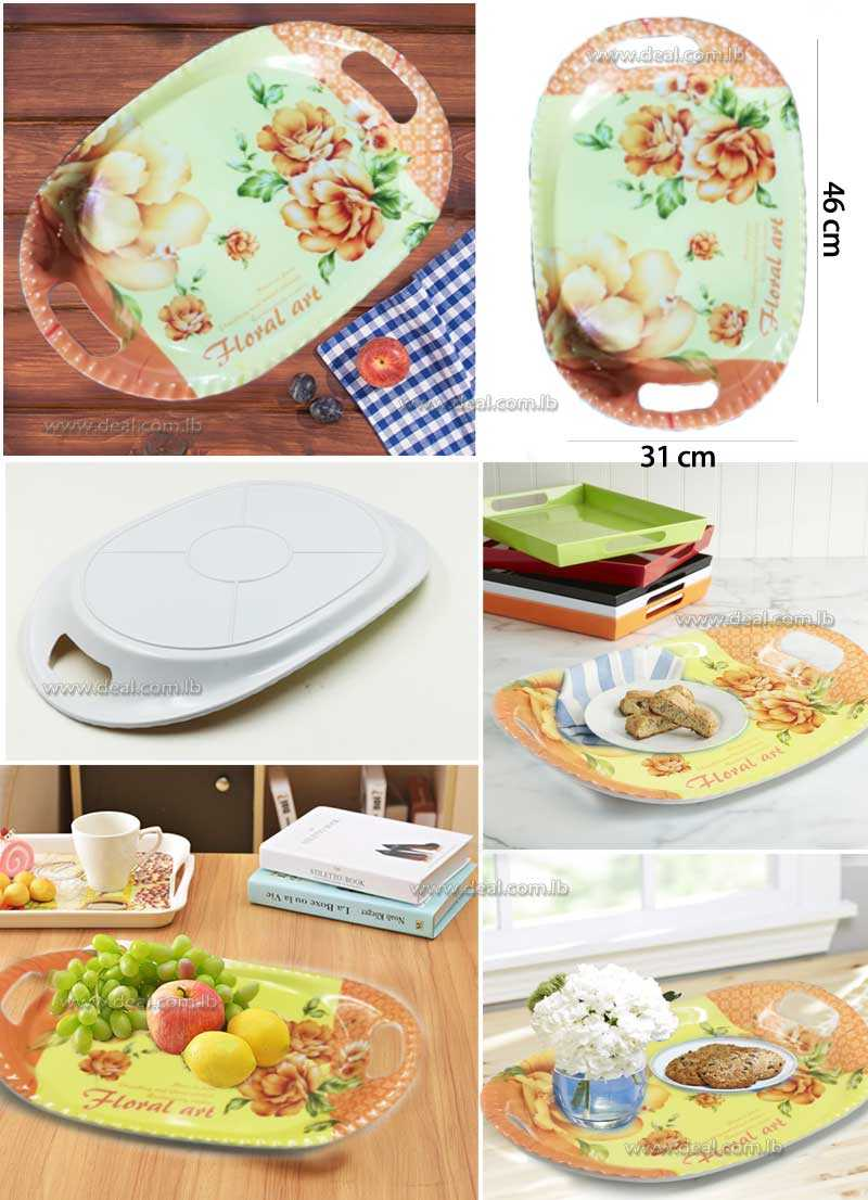 Big Size Plastic Serving Tray