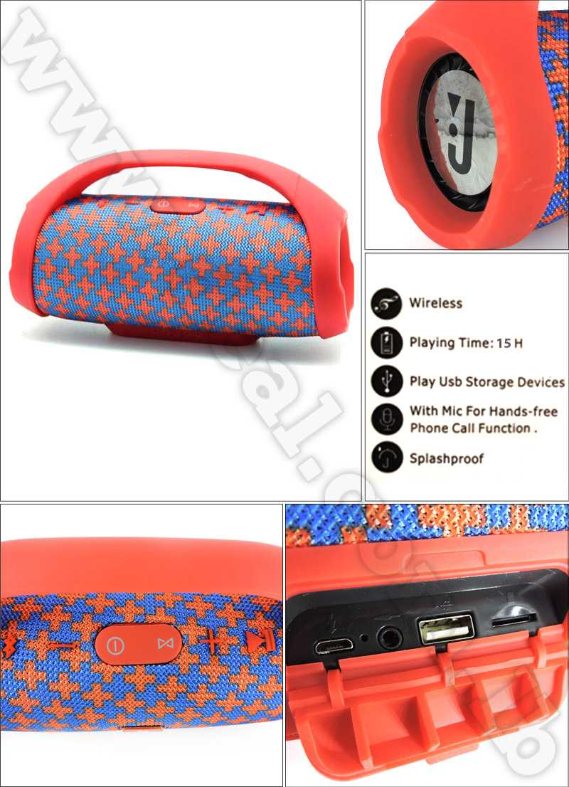 BoomBox Portable Wireless Speaker