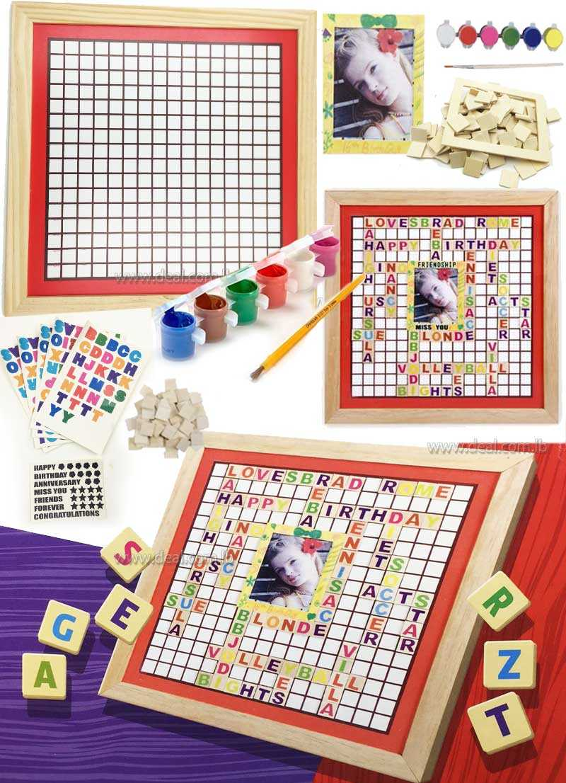 Classic World Toys Memories Board Wood Craft Kit