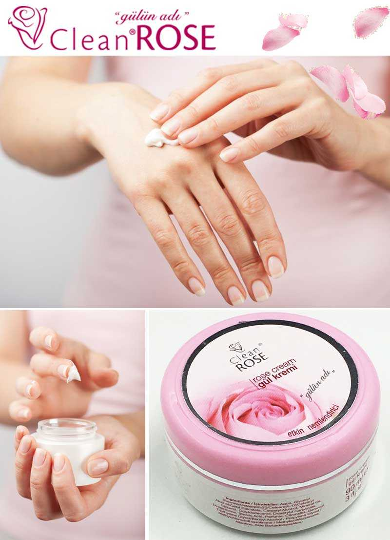 Clean Rose Effective moisturizing cream