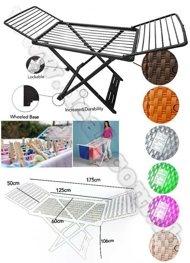 Clothes Drying Rack Plastic