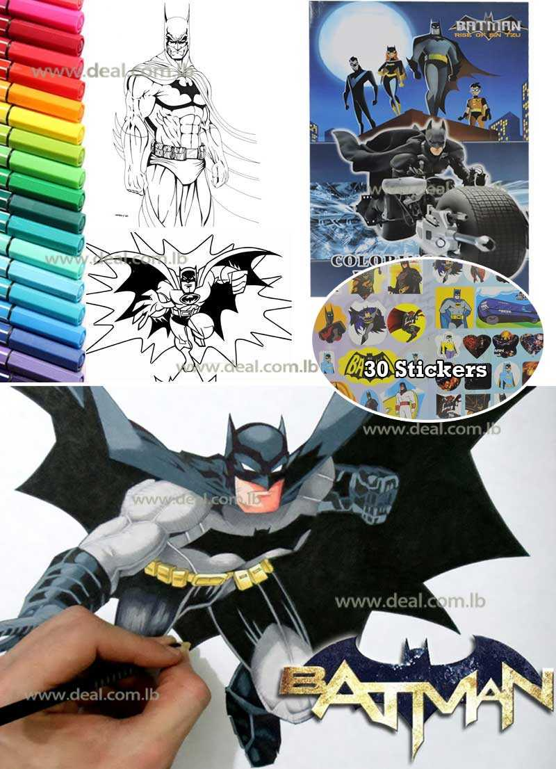 Coloring Book BATMAN