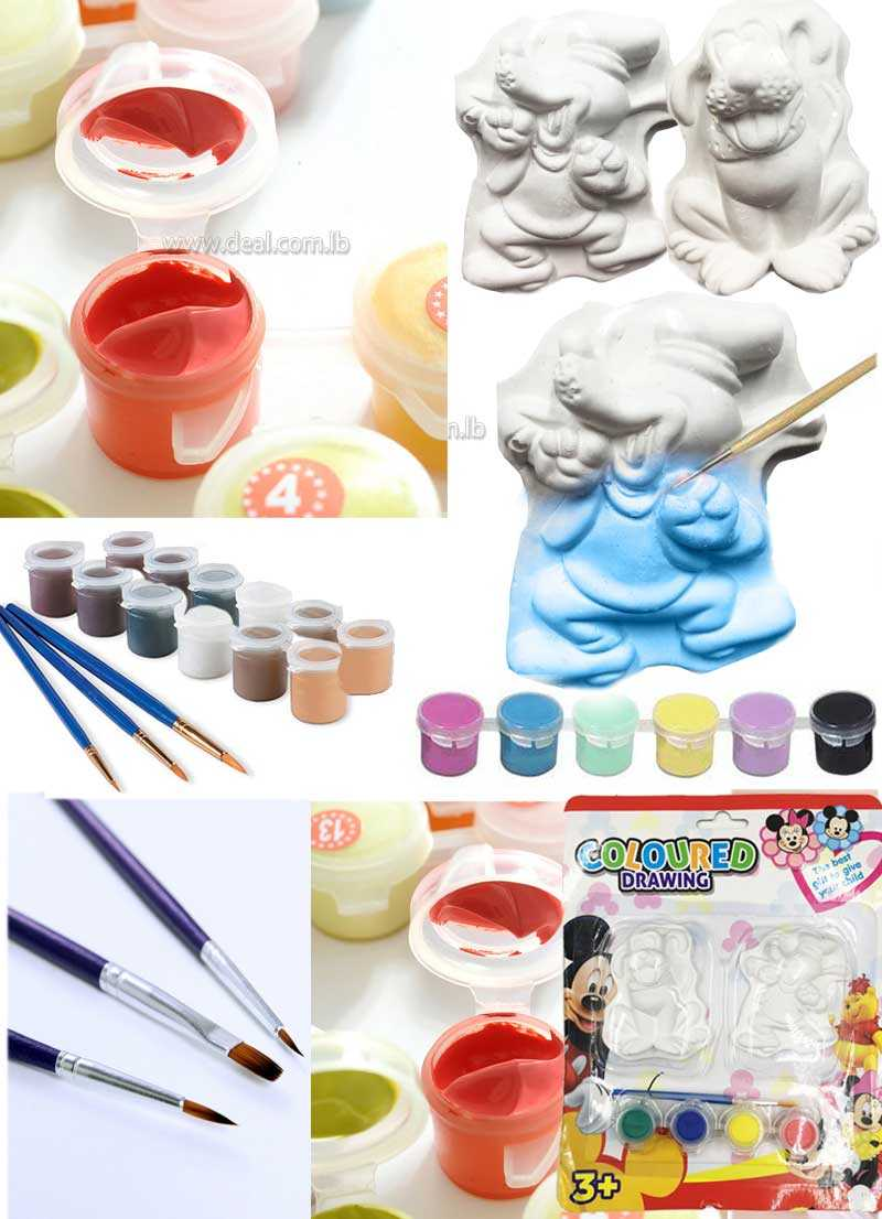 Coloured Drawing DIY- sculpted painting Kit set