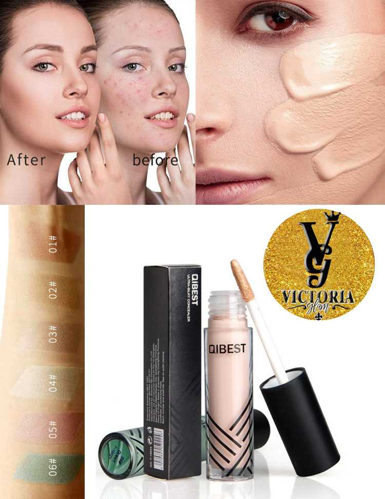 Concealer Waterproof Long Lasting Liquid Contouring Foundation