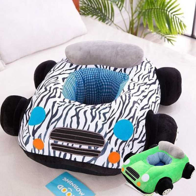 Cute Car Baby Sofa Support Seat Plush Infant Learning