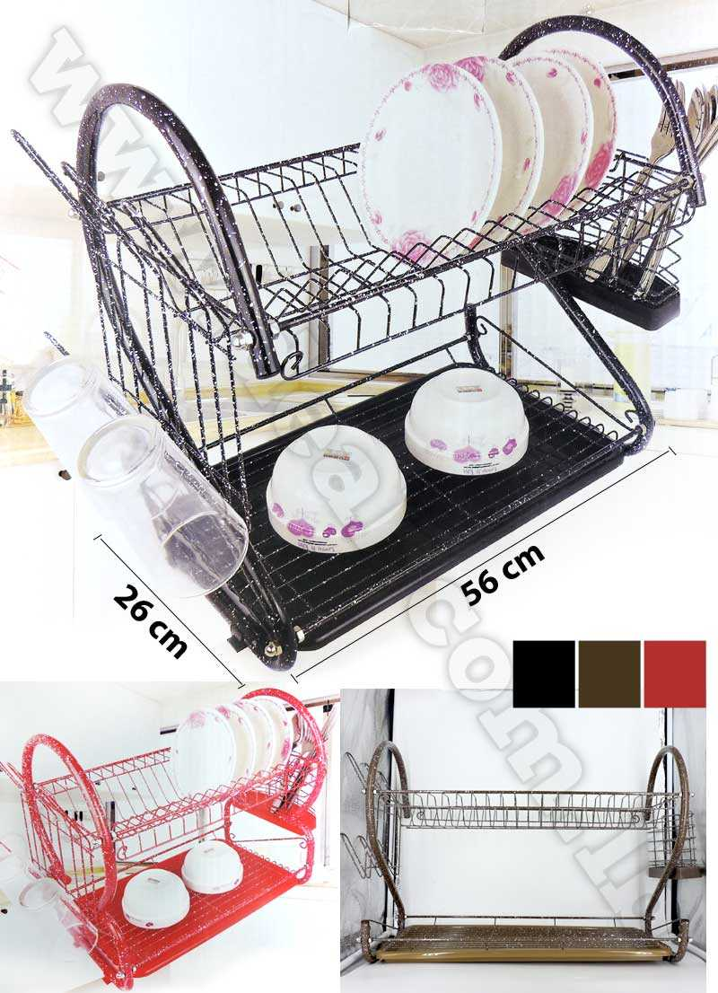 Dish Drainer Rack Granite Stainless Steel
