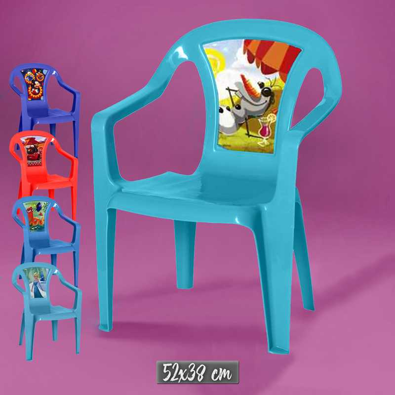 Disney  a chair  plastic material