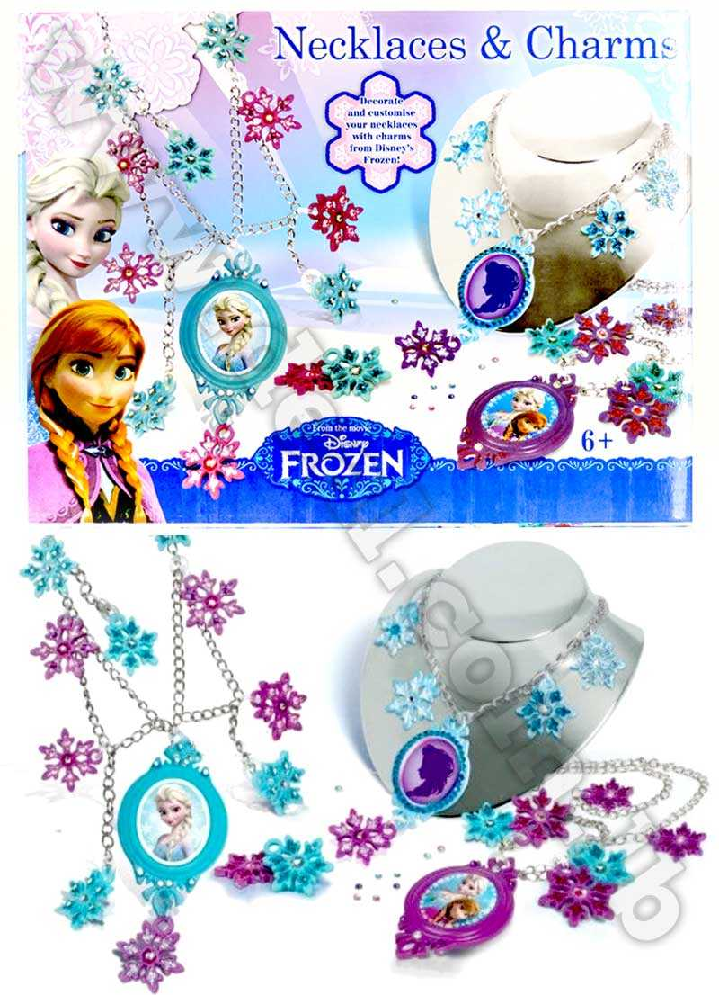 Disney+Frozen+Necklaces+%26+Charms+Toy