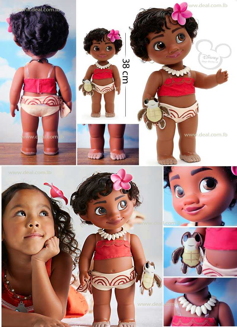 Disney Moana Toddler Doll With Sandy Toes