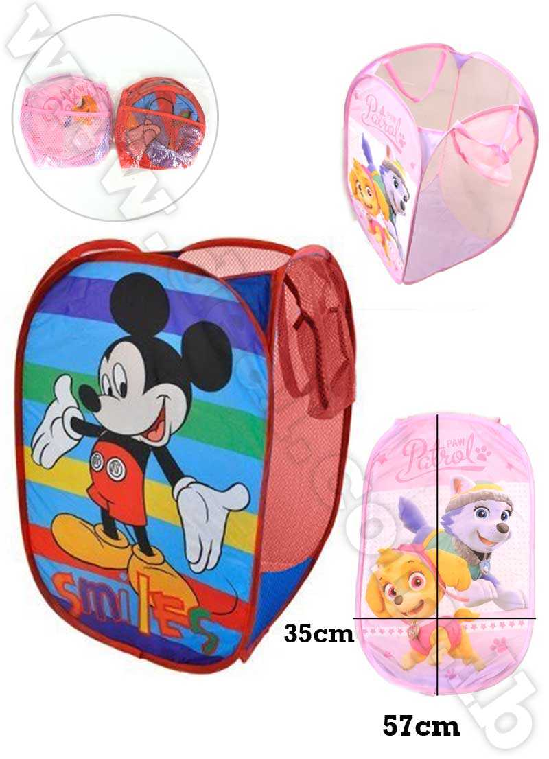 Disney Pop Up hamper mesh toy child Cartoon