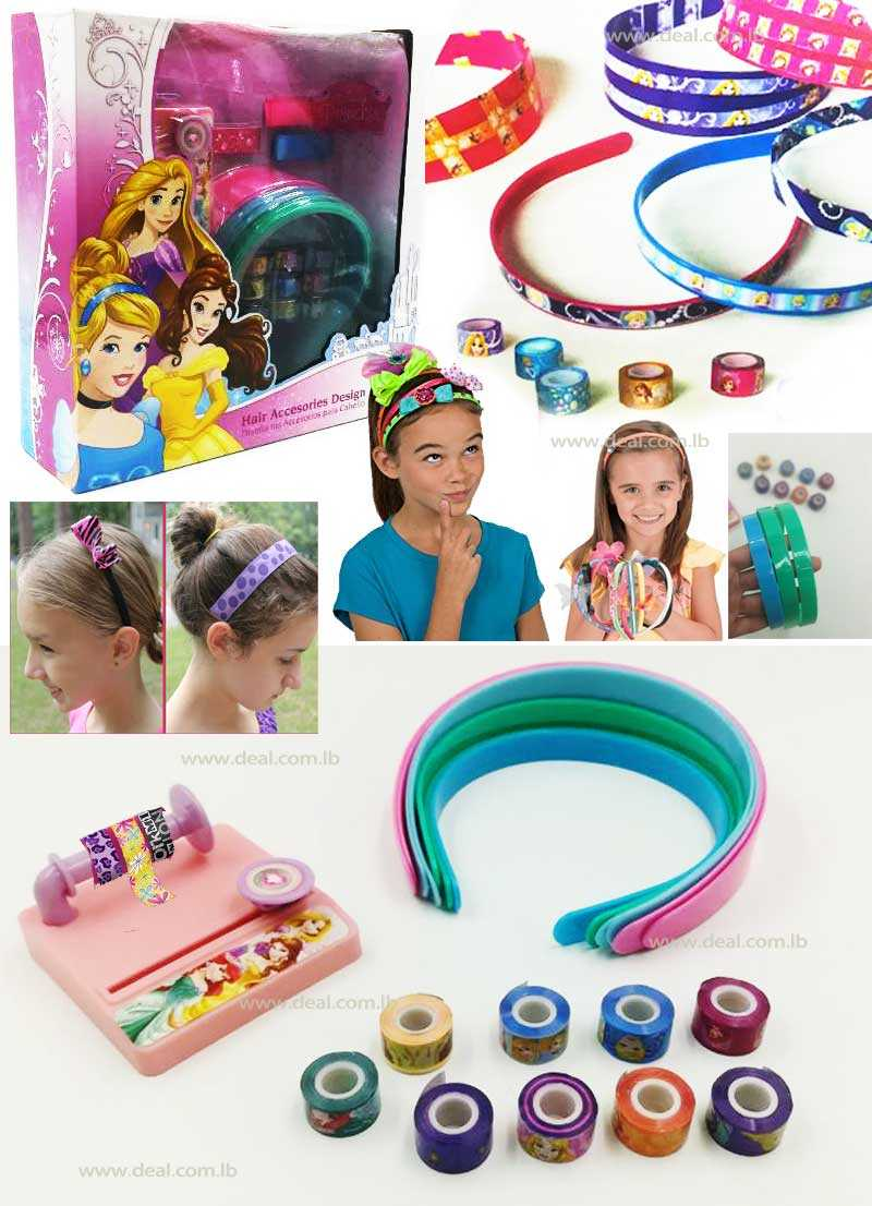 Disney Princess Make Your Own Headband Kit Hair Accessories Design