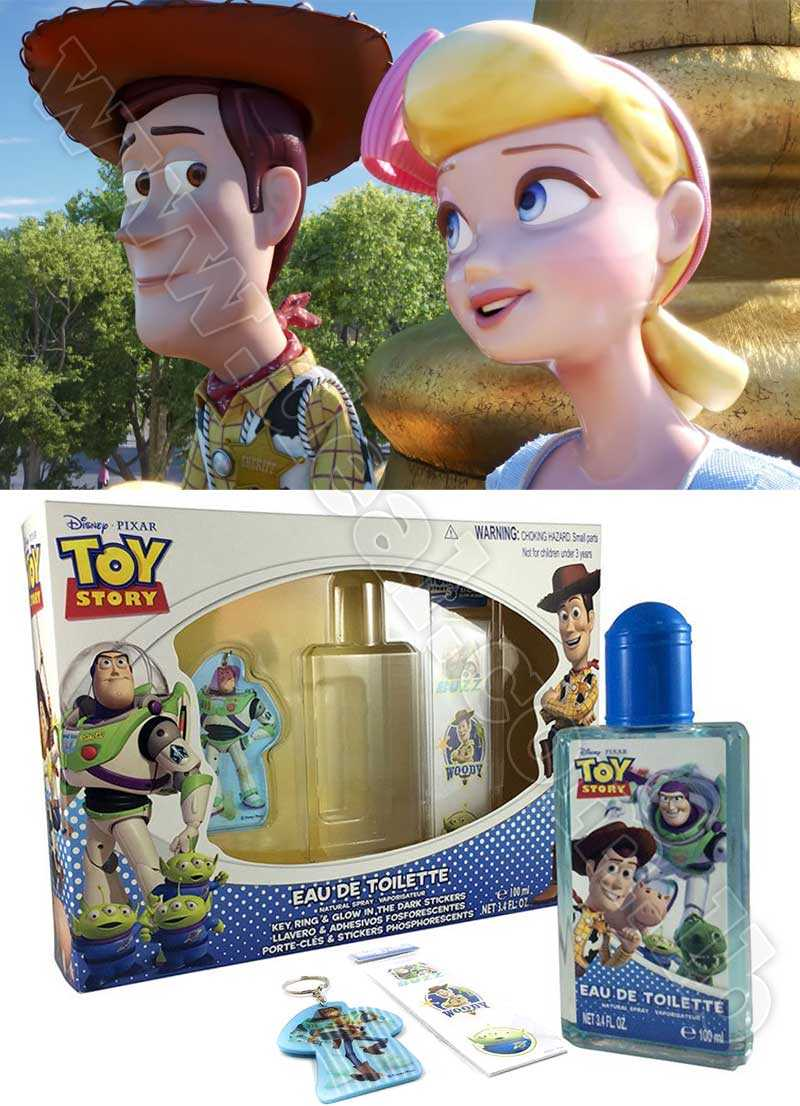 Disney Toy Story 3 Piece Perfume Set