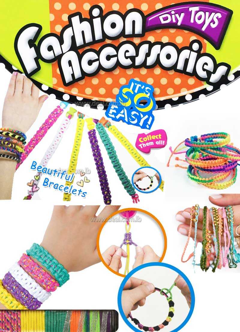 Diy Toys Fashion Accessories beautiful bracelets