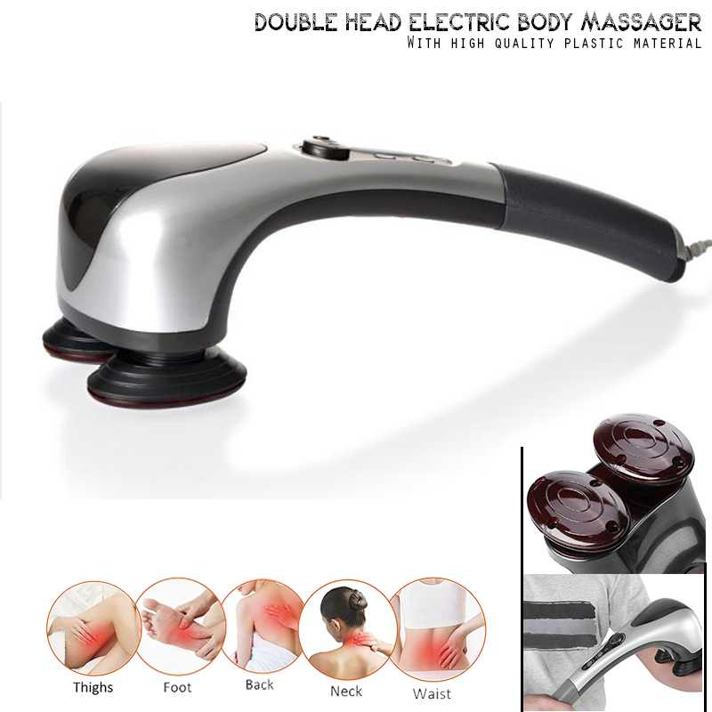 Double Head Heating Massager
