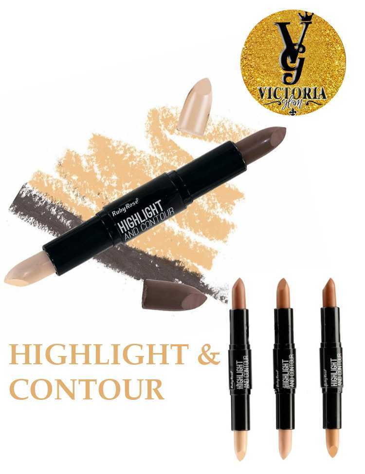Double+pencil+for+contouring+highlight+and+contour