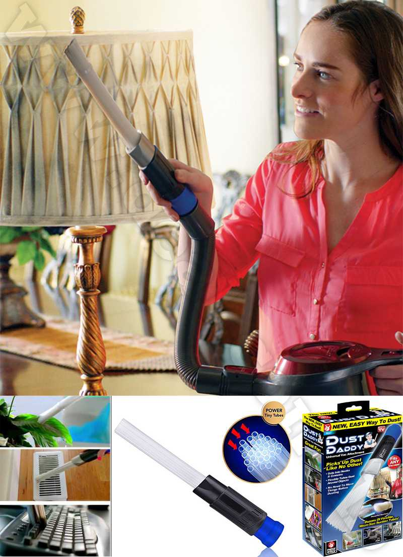 Dust Daddy Vacuum Cleaner Dust Dirt Remover Universal Attachment