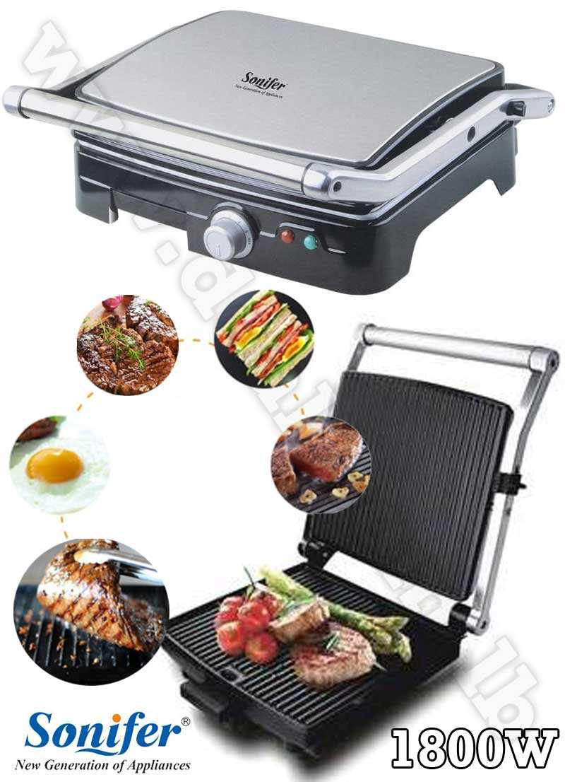 Electric grill barbecue Sonifer 1800W