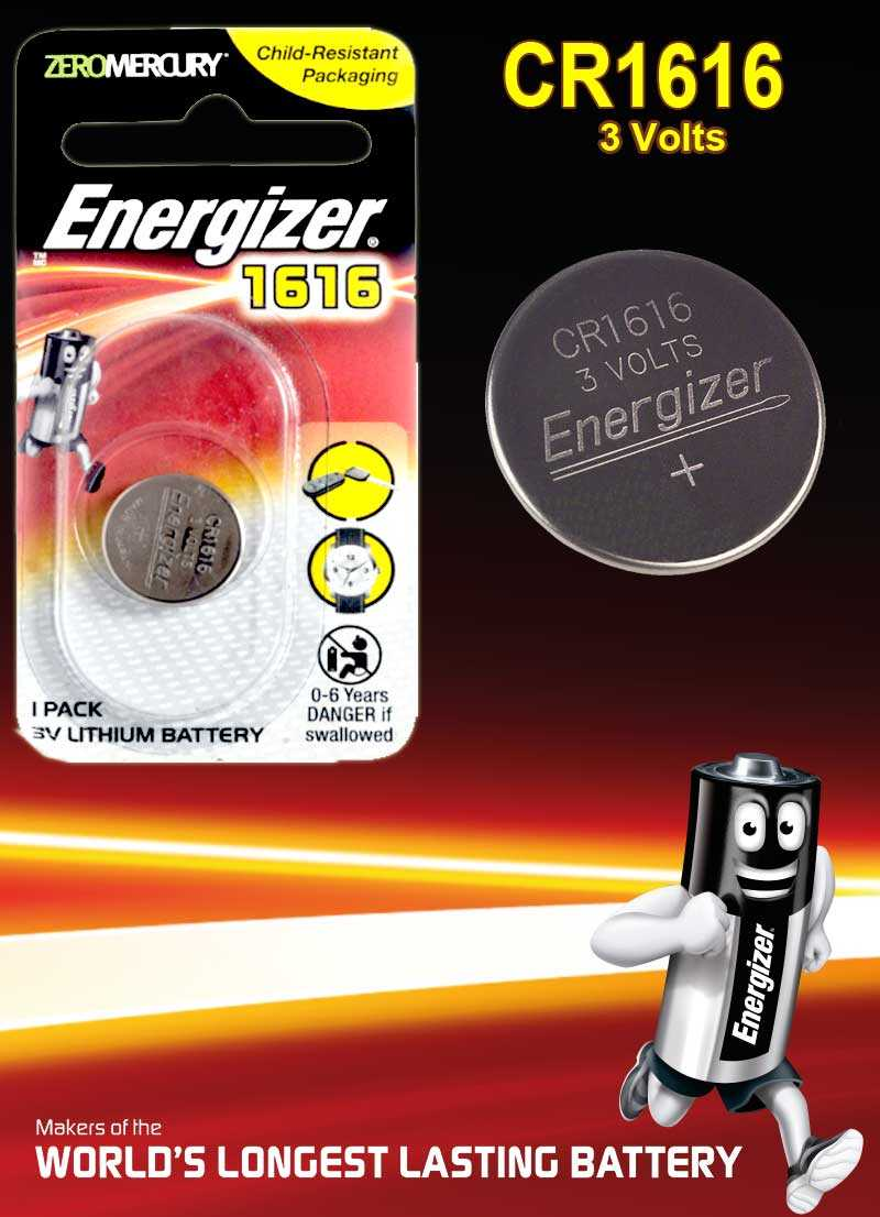 Energizer  CR1616 Lithium Battery