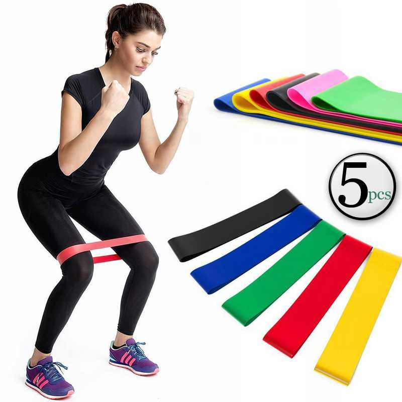 Exercise Fitness Resistance Mini Loop Bands That Perform Better When Working Out at Home or The Gym
